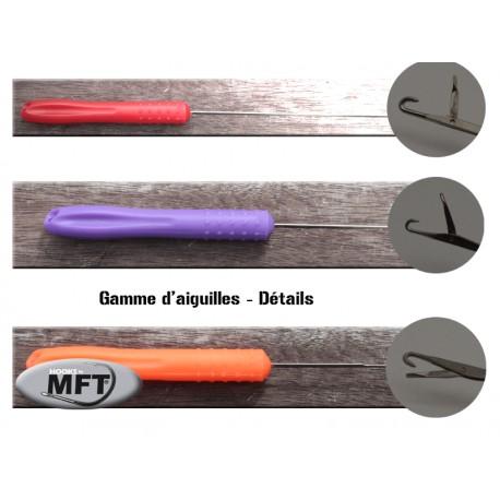 Aiguille à chas - MFT® - longue - ROUGE