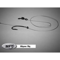Aligner Rig - Bas de ligne monté Pêche Carpe - Pack x 2 montages - MFT®