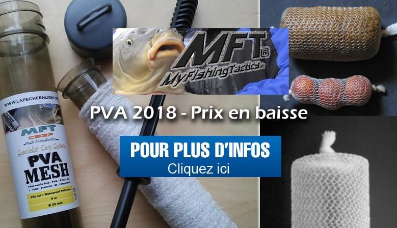 En 2018, nos prix baissent sur le PVA de chez MFT® - Profitez-en.!