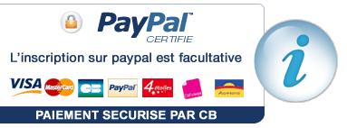 CARTE BLEUE - Payer avec Paypal, même sans compte Paypal.!