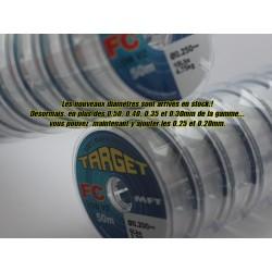 TARGET-Fluorocarbone - Gamme complète de 0.20mm à 0.60mm