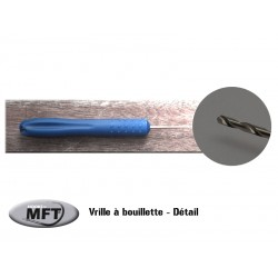Vrille à bouillette - MFT® - Bleue