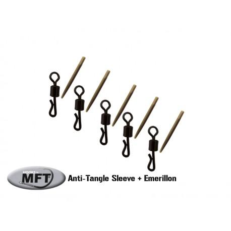 Anti-Tangle Sleeve + Emerillon ( 40mm )