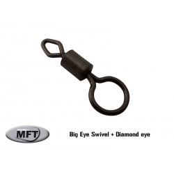 MFT ® - Emerillon spécial - Big eye swivel with diamond eye