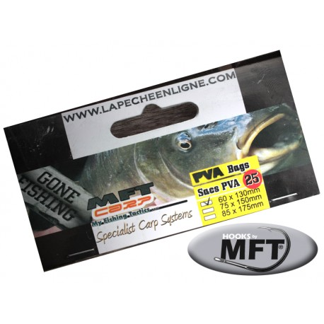 MFT ® - Sac - PVA 60 x 130mm - 25pcs