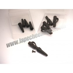 MFT® - Pack x 10 pcs - Safety Clip Pin + Rubber Tail