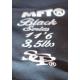 Canne CARPE - MFT® - Black Series - Détail housse 11'6'' - 3,5lbs